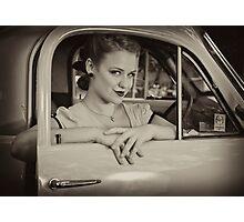 Leeloo Loren Photographic Print
