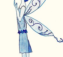 The Blue Fairy by ElmaBree