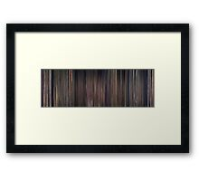 Moviebarcode: Snow White and the Seven Dwarfs (1937) Framed Print