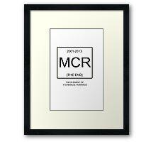 MCR - My Chemical Romance Framed Print