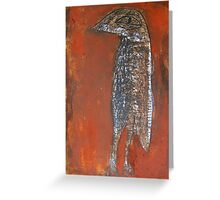 bush curlew Greeting Card