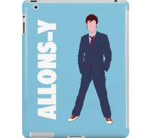 Doctor Who - Allons-y  iPad Case/Skin