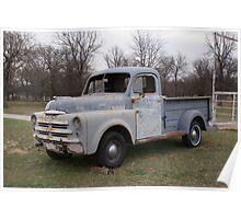 1950 Dodge Pickup Poster