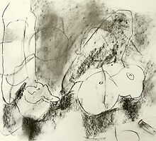 charcoal still life by donnamalone