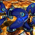 Water Fixture Creatures ON the Bisquits by GolemAura