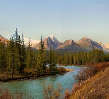 Bow Range - Banff National Park by JamesA1