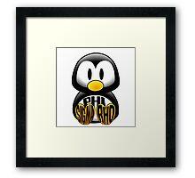 Phi Sigma Rho Penguin Framed Print