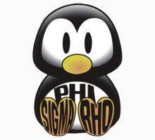 Phi Sigma Rho Penguin by katiefarello