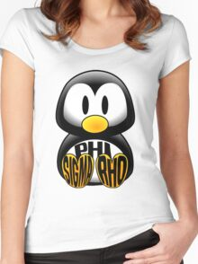 Phi Sigma Rho Penguin Women's Fitted Scoop T-Shirt