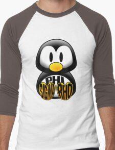 Phi Sigma Rho Penguin Men's Baseball ¾ T-Shirt