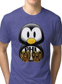 Phi Sigma Rho Penguin Tri-blend T-Shirt