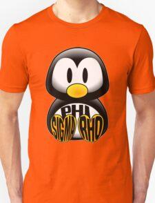 Phi Sigma Rho Penguin Unisex T-Shirt