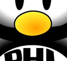 Phi Sigma Rho Penguin Sticker