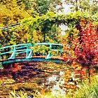 Bridge at Giverny by Julien Menet