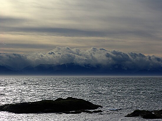 Winter Sea, Winter Sky by Jann Ashworth