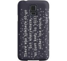 Under the stars. Kerouac Samsung Galaxy Case/Skin