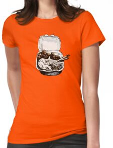 Number 23. Spicy Chicken To Go Womens Fitted T-Shirt