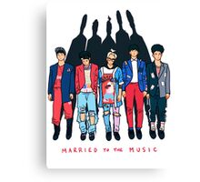SHINee - Married to the Music Canvas Print