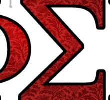 Phi Sigma Rho Rose Letters Sticker