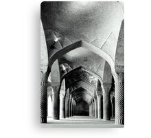 Columns and Arches Canvas Print