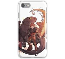 Hiccup and Toothless iPhone Case/Skin