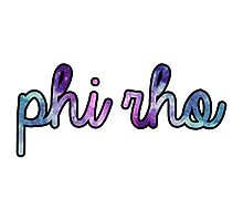 Phi Rho Galaxy Photographic Print