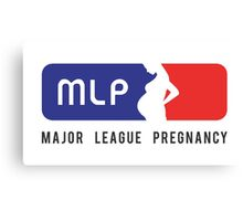 Major League Pregancy Canvas Print