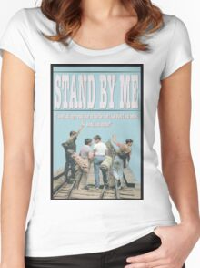 Stand By Me Women's Fitted Scoop T-Shirt