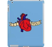 I (Heart) You iPad Case/Skin