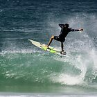 surfer at byron by lethal