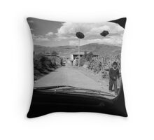 Drive-by Throw Pillow