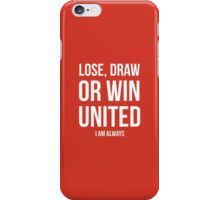 manchester united iPhone Case/Skin