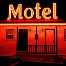 Red Motel by jbbphotography