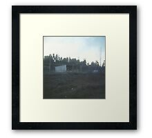 abandoned toy factory. Framed Print