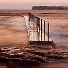 Looking Out - Fairlight Rock Pool by Step9