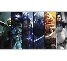 Mass Effect - The Crew Photographic Print