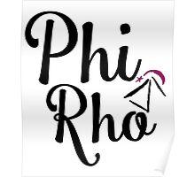 Phi Rho Script Poster