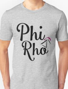 Phi Rho Script Unisex T-Shirt