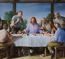 Last Supper by Giampaolo Ghisetti