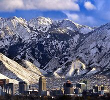 Salt Lake City - Panorama by Ryan Houston