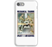 Enlist In The Air Service -- WW1 iPhone Case/Skin
