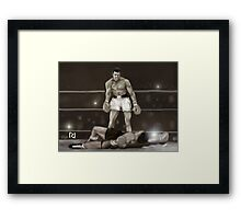 SIMPLY THE GREATEST ! Framed Print