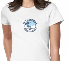 Fort Lauderdale. Womens Fitted T-Shirt