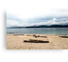 Island of relaxation Canvas Print