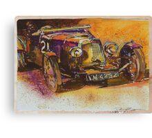 Classic Bentley Canvas Print
