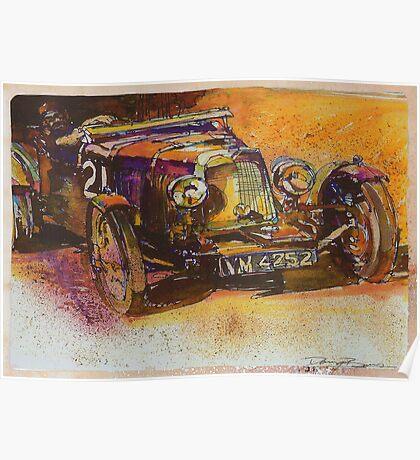 Classic Bentley Poster