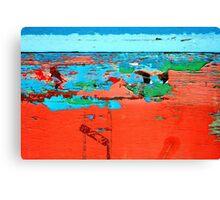 Windsurfing the Ocean Trance Canvas Print