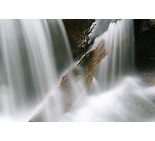 Stuck in the flow (Falls of Moness) Photographic Print