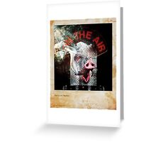 The Oink Master Greeting Card