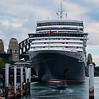 When the Queen came to town - Queen Elizabeth, Circular Quay by Step9